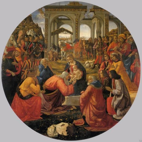 Adoration Of The Magi 1487